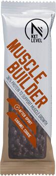 NXT Level Muscle Builder Caramel Cookie & Cream reep 55 gram Wit