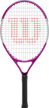 Wilson Ultra Pink 23 Tennisracket Kids Meisjes Wit