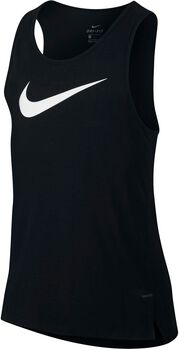 Nike Dry Elite Basketbal hemd Heren Zwart