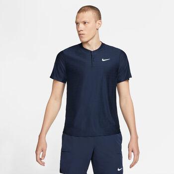 Nike Court Breatch Advantage polo Heren Blauw