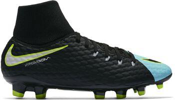 Nike Hypervenom Phelon III FG voetbalschoenen Dames Blauw