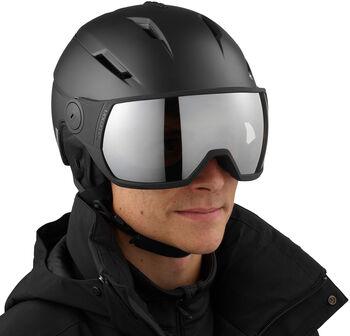 Salomon Pioneer Visor skihelm Heren Zwart