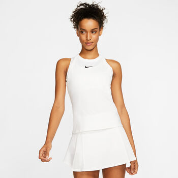 Nike Court Dry top Dames Wit