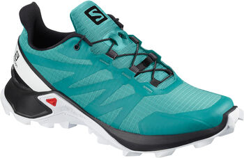 Salomon Supercross trailschoenen Dames Blauw