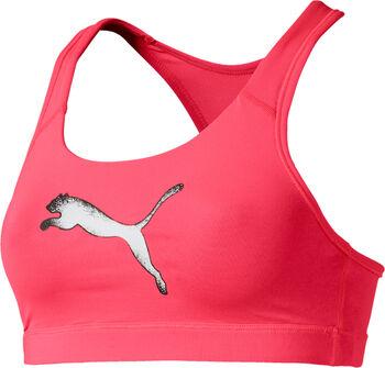 Puma 4Keeps sportbeha Dames Roze