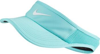 Nike Court Aerobill Tennis zonneklep Dames Blauw