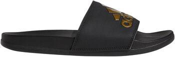 adidas Adilette Cloudfoam Plus Logo slippers Zwart
