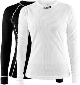 Craft Active Long Sleeve shirt (2 paar) Dames Zwart