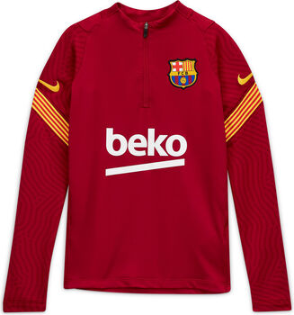Nike FC Barcelona Strike Drill kids top Jongens Rood