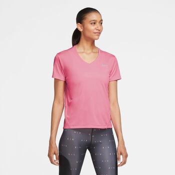 Nike Miler shirt Dames Roze