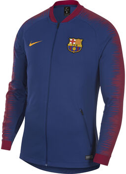 Nike FC Barcelona Anthem jack Heren Blauw