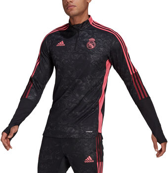 adidas Real Madrid Graphic Trainingsjack Heren Zwart