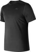 New Balance Heat Run shirt Heren Zwart