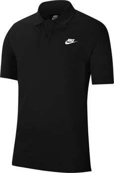 Nike Sportswear polo Heren Zwart