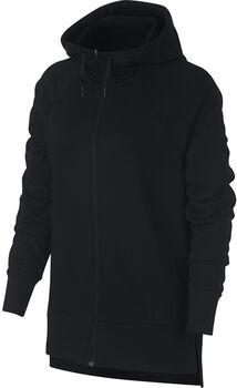 Nike Dry hoodie Dames Zwart