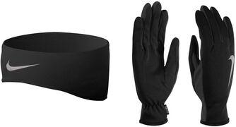 Run Dri-FIT hoofdband en handschoenen set