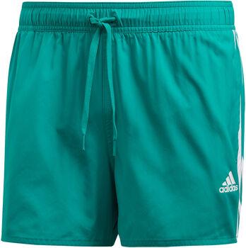 adidas 3-Stripes CLX zwemshort Heren Groen