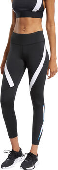 Reebok Workout Ready Vector legging Dames Zwart