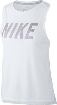 Nike Dry Miler top Dames Wit