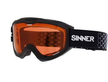 Sinner Lakeridge skibril Zwart