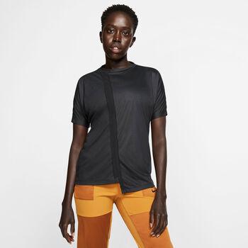 Nike Rebel shirt Dames Zwart