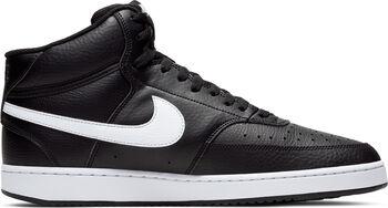 Nike Court Vision Mid basketbalschoenen Heren Zwart