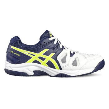 Asics GEL-Game 5 jr tennisschoenen Wit