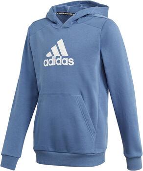 adidas Logo Hoodie Jongens Blauw