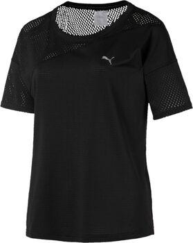 Puma A.C.E. mesh Blocked shirt Dames Zwart