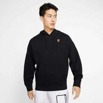 Nike Court Heritage hoodie Heren Zwart