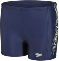 Speedo E10 Pop SC panel jr aquashort Jongens Blauw