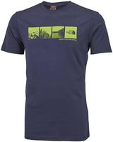 The North Face Mountain View shirt Heren Blauw