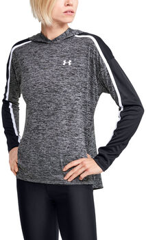 Under Armour Tech hoodie Dames Zwart