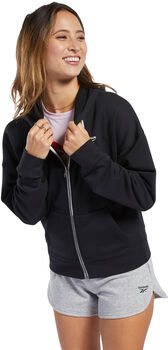 Reebok Training Essentials Full-Zip hoodie Dames Zwart