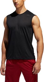 ADIDAS FreeLift Tech Climacool 3-Stripes shirt Heren Zwart