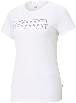 Puma Rebel Graphic shirt Dames Wit