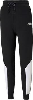 Puma Rebel Hoge Taille broek Dames Zwart