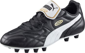 Puma King top FG voetbalschoenen Heren Zwart