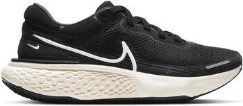 Nike ZoomX Invincible Run Flyknit hardloopschoenen Dames Zwart