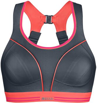 Shock Absorber Ultimate Run sportbeha Dames Grijs