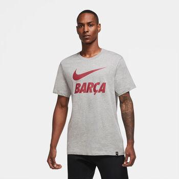 Nike FC Barcelona t-shirt Heren Grijs