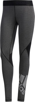 ADIDAS Alphaskin Badge of Sport tight Dames Zwart