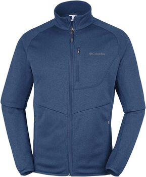 Columbia Drammen Point Zip fleece Heren Blauw