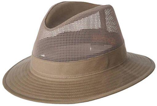 Hatland - Greenville hoed - Unisex - Petten, Hoeden en Mutsen - Off white - L