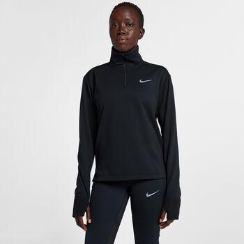 Nike Therma Sphere Element hardloopshirt Dames Zwart