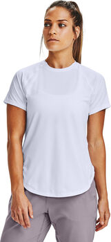 Under Armour Armour Sport Hi-Lo t-shirt Dames Wit