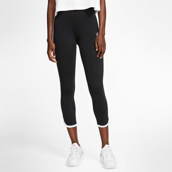 Nike Sportswear Mesh tight Dames Zwart