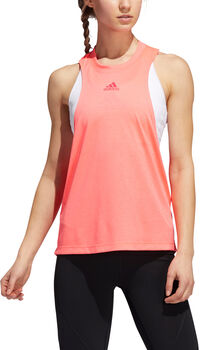 adidas Badge of Sport Boxy Tanktop Dames Rood