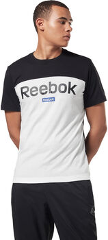 Reebok Training Essentials Linear Logo shirt Heren Zwart