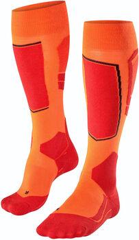 Falke SK4 skisokken Heren Oranje